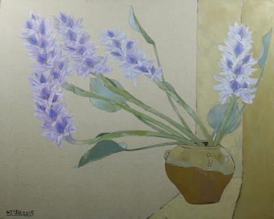 Tĩnh vật hoa Lục Bình